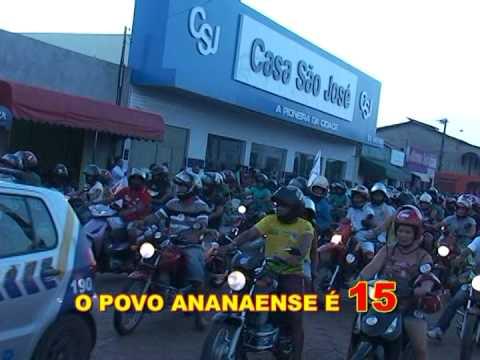 GRANDE CARREATE DE MARCELO MIRANDA EM ANANÁS-2014