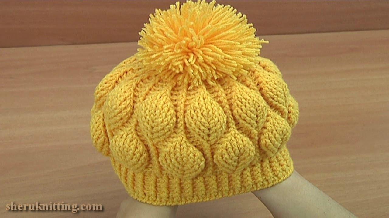Slope style: 13 free knit + crochet chunky hat patterns.