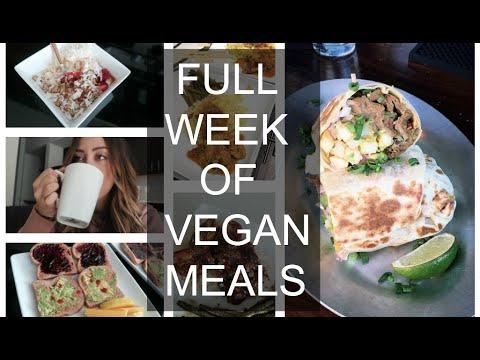 WHAT I EAT IN A WEEK? BREAKFAST, LUNCH & DINNER! (vegan)