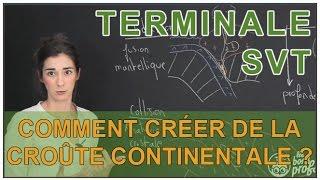 Comment créer de la croûte continentale ? - SVT - Terminale - Les Bons Profs thumbnail