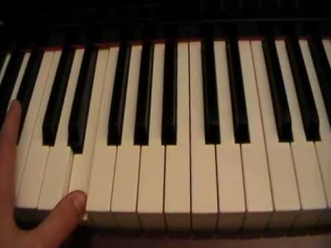 How To Play Kiss Me Slowly By Parachute On Piano Youtube