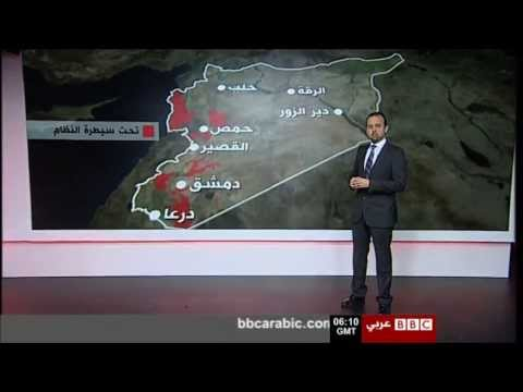 Syria field developments video wall