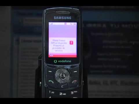 Liberar Samsung L760, cómo desbloquear Samsung L760v de Vodafone Movical Net