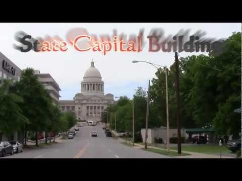 Little Rock Arkansas Drive with Rap Music