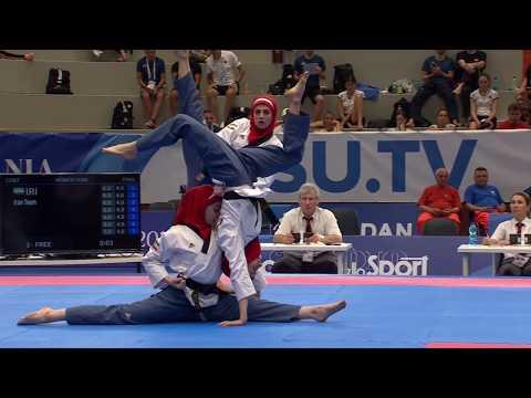 Napoli 2019 Summer Universiade_Day 2 Highlights Of Team Poomsae (W/M/Mixed)
