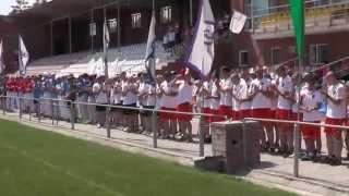 Церемония открытия III летней Спартакиады молодежи России по бейсболу 2014