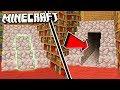 Easy & Hidden STAIRCASE DOORWAY in Minecraft!