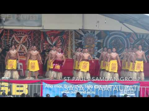 St Pauls - Sasa X Faataupati - Polyfest 2015
