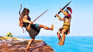 Assassin's Creed Odyssey Funny Moments! thumbnail
