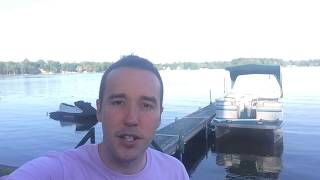 Outboard Boat Engine wont stay running - Adjust Idle Screw - VERY EASY by  DIY With Michael Borders