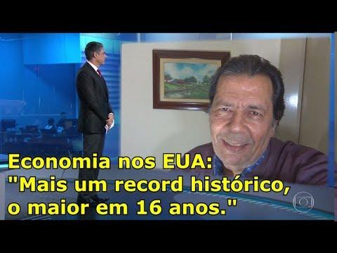 TRUMP: ECONOMIA bate Record histórico