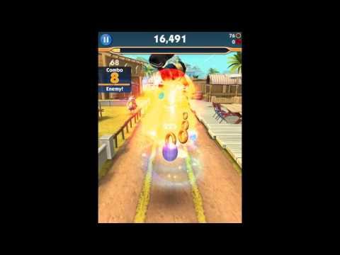 Sonic Dash 2: Sonic Boom (iOS) - Sonic + Amy Gameplay