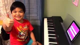 "6-Year-Old Renzo Plays ""Shallow"" with Simply Piano by JoyTunes"