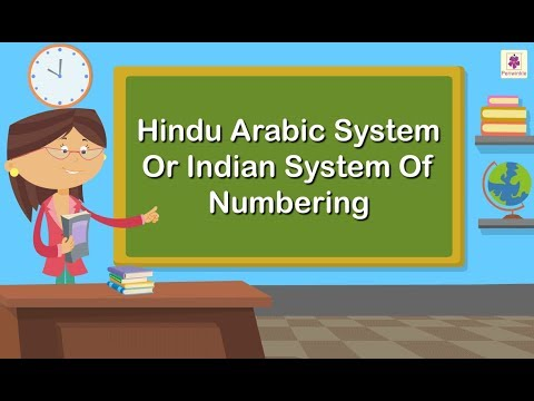 Hindu Arabic System Or Indian System Of Numbering | Maths For Kids | Periwinkle