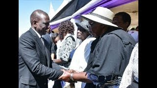 DP Ruto attends Moi's eagle-eyed bodyguard