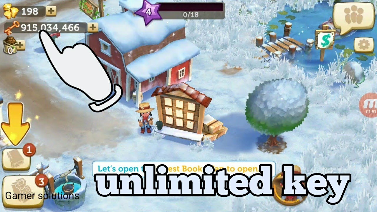 Farmville 2 tropic escape mod apk Hack unlimited key unlimited money 2018 v  9 3 2093 by GAMER SOLUTIONS