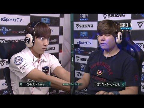 #1 herO vs #20 MyuNgSiK