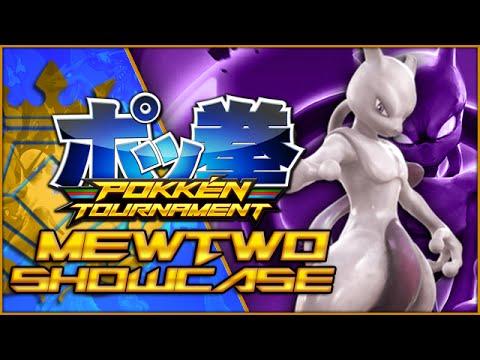Pokken Tournament - Mewtwo Showcase! (Live Stream)