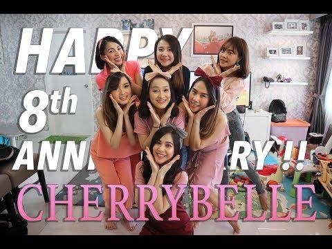 HAPPY 8th ANNIVERSARY CHERRYBELLE