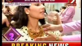 Akshaya Tritiya special feature with Anmol Jewellers on IBN 7 Special 09 May 2016