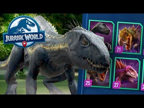 INDORAPTOR AT NIGHT!!! - Jurassic World Alive | Ep28 ( Jurassic GO )