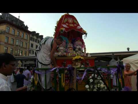 Ratha-Yatra Festival  Featuring: H.H.Janananda Swami  in Zürich 2015