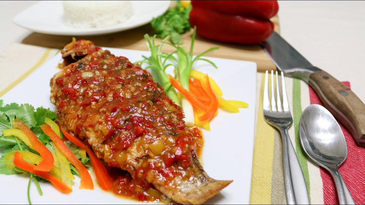 Thai crispy fish with tamarind sauce episode 43 youtube forumfinder Gallery