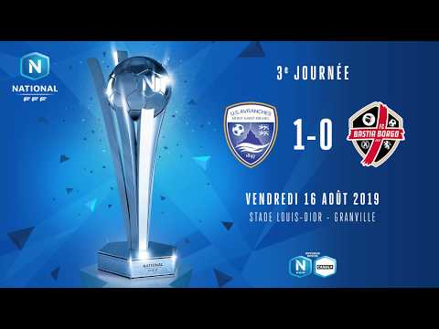 J3 : US Avranches MSM - FC Bastia Borgo (1-0), le résumé I National FFF 2019-2020