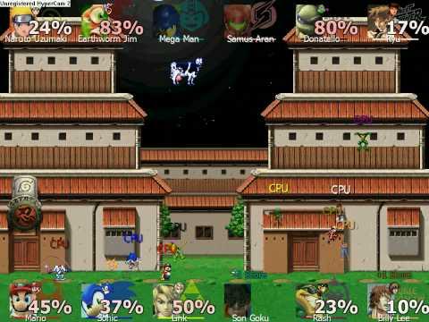 скачать игру Naruto Smashbros Rumble - фото 4