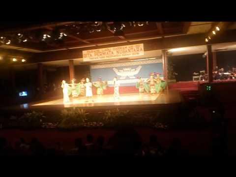 Parade lagu daerah propinsi lampung kab. Tulang ba