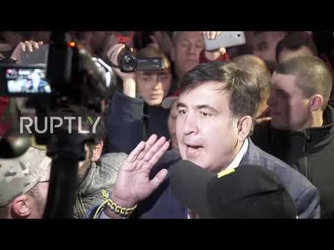 Ukraine: Saakashvili urges protesters to remain calm and lawful