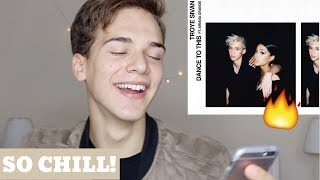 Troye Sivan - Dance To This (Official Audio) ft. Ariana Grande (REACTION)