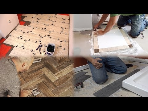 4 Types of Bathroom Tile Installations