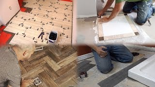 4 Types of Bathroom Floor Tile Installations