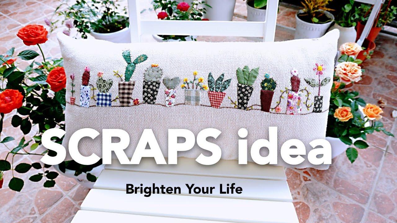 Easy and Simple Applique Work┃Applique idea┃Hand Stitch┃Brighten Your Life #HandyMum