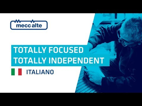 Mecc Alte - Totally focused, totally independent