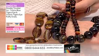Turquoise And Tigers Eye Jewellery Making Jewellerymaker Late Showlive