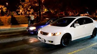 Civic SI vs Civic SI EM1 and Acura RSX vs Civic SI