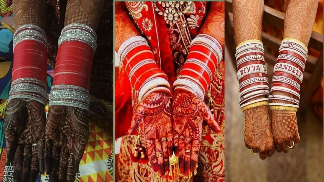 Wedding Choora Bangles Bridal Chura Wedding Chura || Punjabi Bridal Bengals
