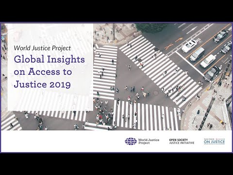 Global Insights on Access to Justice 2019 | World Justice