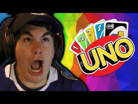 LEGIT SALT!!!  Uno with Wade, Molly and Dlive!