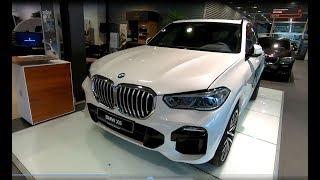 BMW X5 XDRIVE G05 M SPORT PARTS ALL NEW MODEL 2019 SUV MINERAL WHITE WALKAROUND + INTERIOR