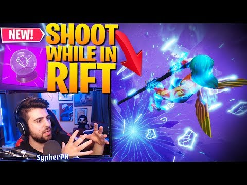How To SHOOT While Using A RIFT!! Easy Trick To Get Free Kills! (Fortnite Battle Royale)