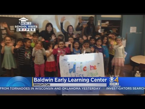 WBZ-TV Weather School Visits: Baldwin Early Learning Center in Brighton,MA