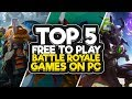 TOP 5 FREE NEW BATTLE ROYALE GAMES 2018 ( PUBG Type Games ) - Short Video