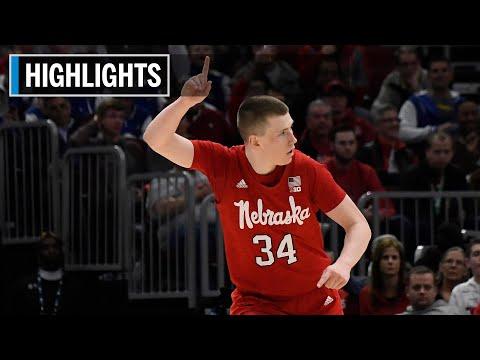 Highlights: Fred Hoiberg Gets His First Win | South Dakota State at Nebraska | Nov. 15, 2019