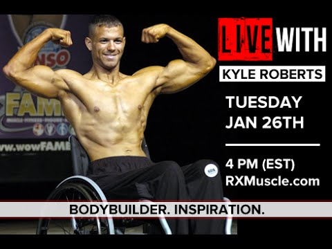 Wheelchair Pro Kyle Roberts LIVE with KYLE ROBERTS