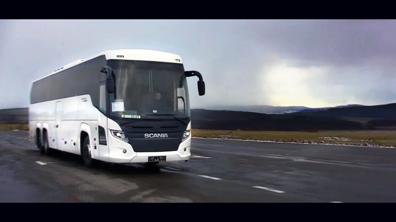 SCANIA Touring HD Sound Recording Photo Session