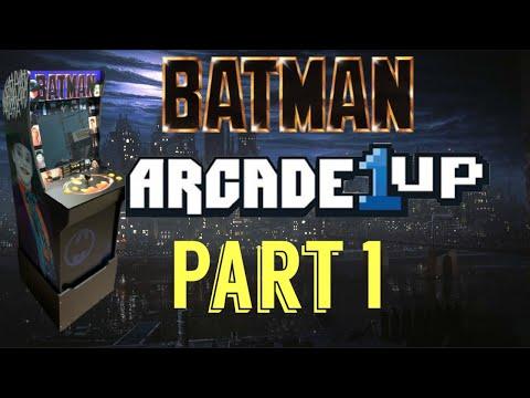 Arcade1Up: BATMAN 89' Atari Games PART 1 from Dreamcast Kyle