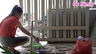 Beautiful Mom Cleaning Extremely Dirty House In The Morning   ỐC Family